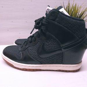 Nike Hidden High Heel High Top Sneakers
